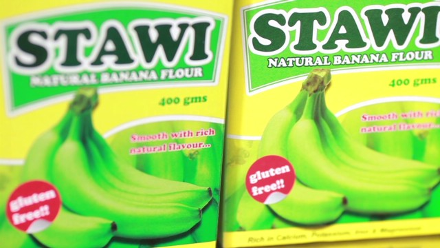 Law graduate turns bananas into flour