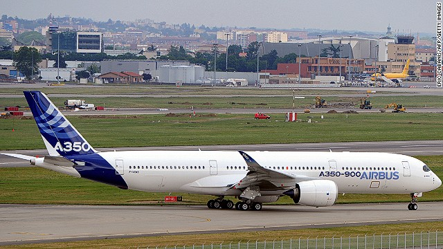 The first delivery date for the A350-900 is a moving target.