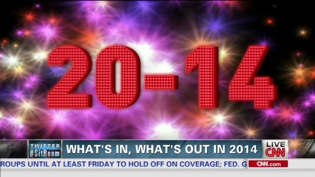 What's 'in' and 'out' for 2014?