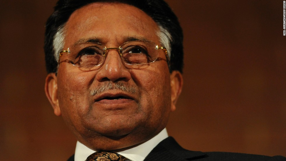 Former Pakistani President Pervez Musharraf speaks in London in 2010. Musharraf led Pakistan from 1999 to 2008, when he resigned and went into exile after being charged of violating the country's constitution in 2007. He returned in 2013, intending to run in national elections, but soon found himself entangled in legal trouble again.