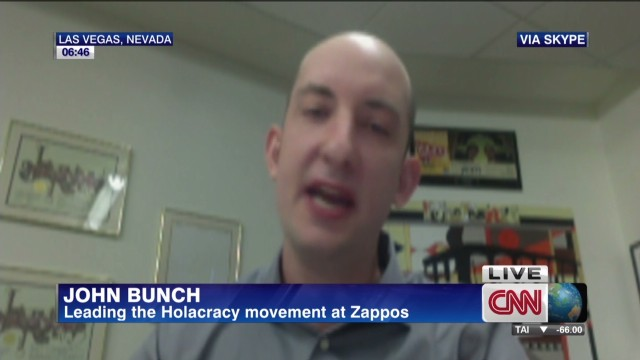 "Zappos embraces ""Holacracy"""