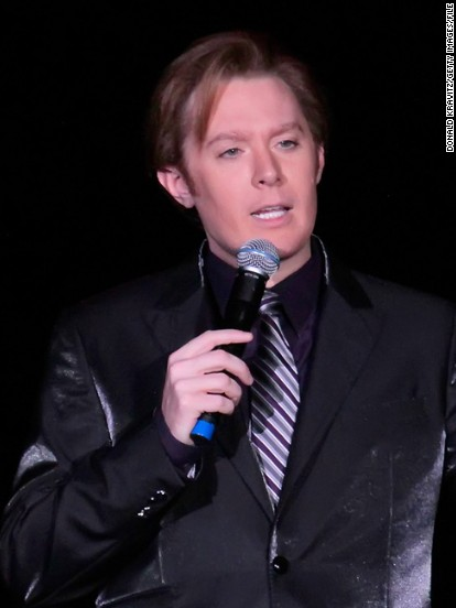 Clay Aiken performs in concert at Trump Taj Mahal on December 1, 2012 in Atlantic City, New Jersey.