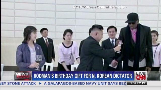 Rodman's gift for N. Korean Dictator