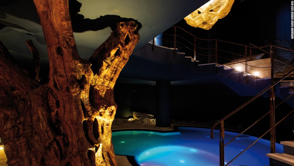 "Covering 3,000 square meters and featuring indoor and outdoor heated salt-water pools, five types of saunas and a crushed ice fountain, Lefay also encourages self-programmed lifestyles. ""You must enjoy life,"" says Dr. Maurizio Corradin, a Western-trained, Eastern-practicing doctor at the heart of the Lefay spa."
