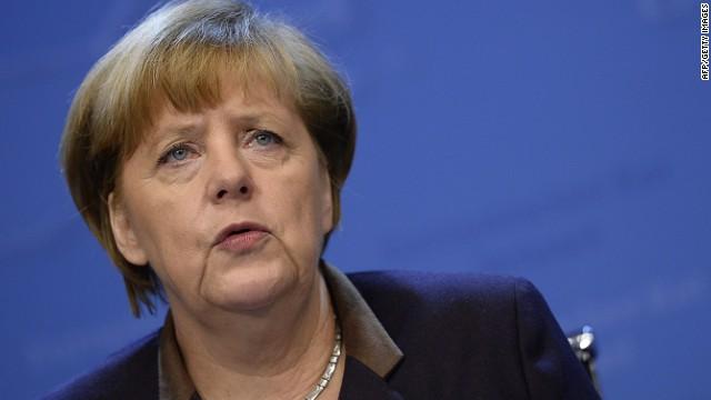Angela Merkel fractures pelvis skiing