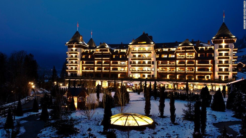 The Alpina Gstaad, which opened in December 2012, offers an intimate experience with just 56 rooms. After a day of skiing, enjoy the spa or offerings at the Cuban cigar room.
