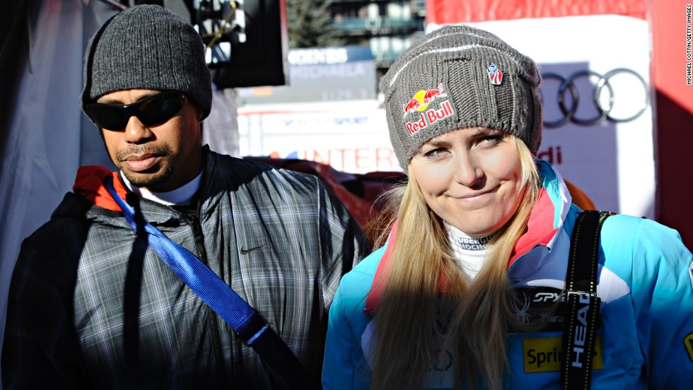 Woods has been spending his time off the course to support his girlfriend Lindsey Vonn, whose bid for Olympic gold at the 2014 Winter Games in Sochi has been ended by a knee injury.