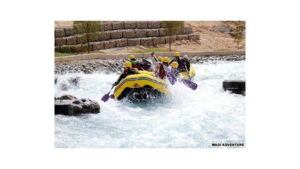 Descenso en aguas rápidas en Al Ain