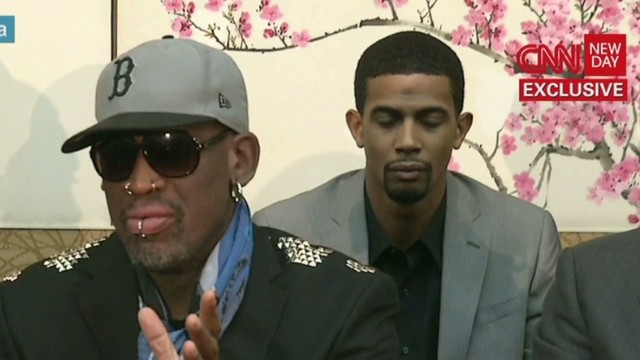 Rodman disavowed by US diplomats
