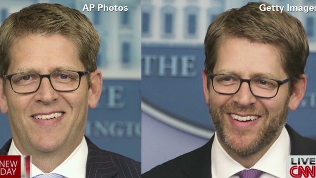 You prefer press secretary with beard!