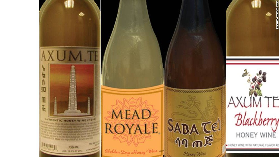 """Tej: In Ethiopia, Tej wine has been produced in many forms for millennia, made from pure organic honey, and sun-dried """"gesho,"""" a plant that grows in the highlands of Ethiopia."""