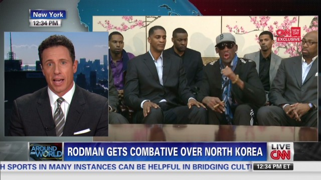 """Cuomo: Rodman went """"Clubber Lang"""" on me"""