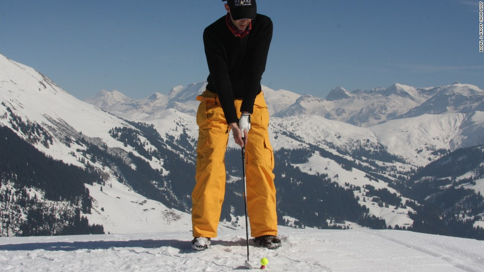 "Other parts of the world remain perfect locations for snow golfers to swing into action. Gstaad in Switzerland will host its eighth <a href=""http://snow-golf.ch/uk/"" target=""_blank"">Snow Golf tournament</a> in March."
