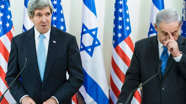 U.S. Secretary of State John Kerry, left, has struggled to put peace talks back on track.