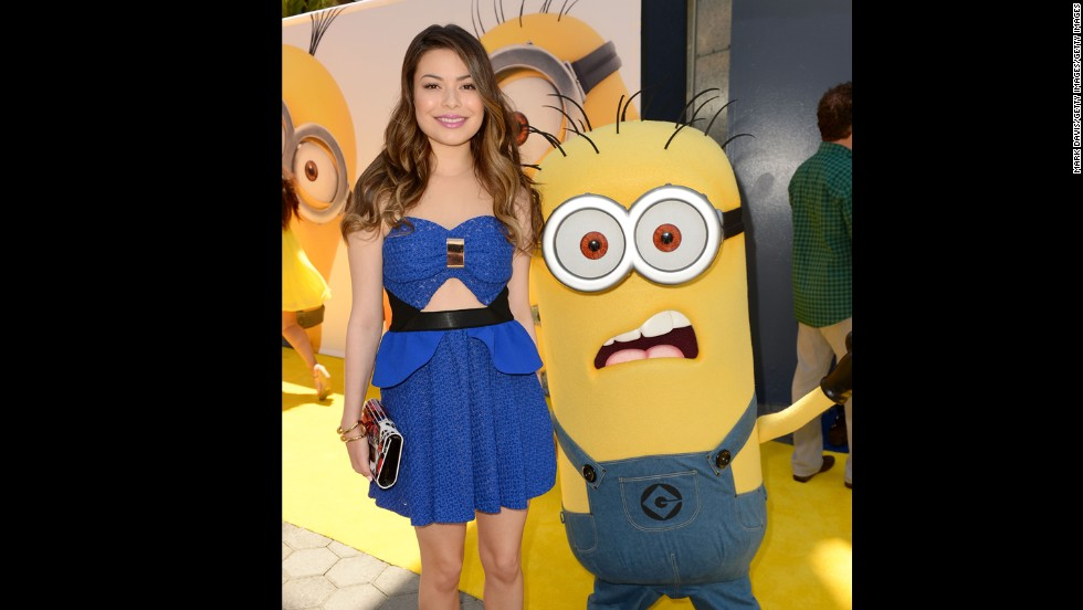 "Actress and singer Miranda Cosgrove wore a cutout dress to the premiere of Universal Pictures' ""Despicable Me 2"" in June 2013. This year, cutouts will be replaced by sheer panels."