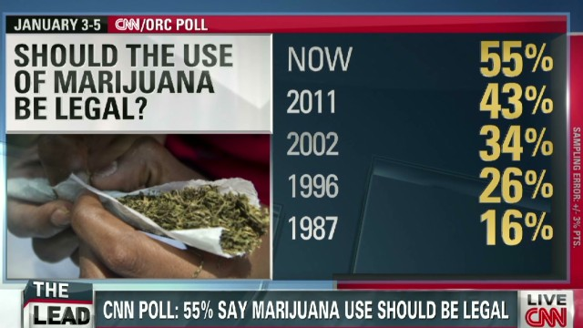 Politics Panel: Rise in support for pot?
