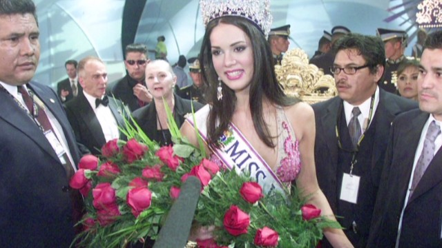 Venezuelan beauty queen shot dead
