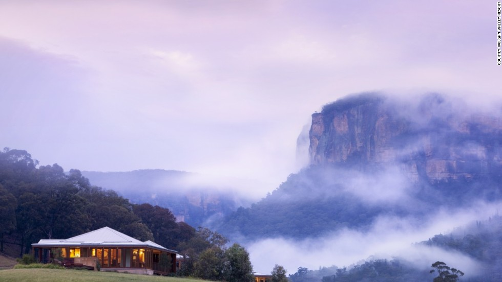 As the first carbon neutral-certified resort in the world, this high-end, multi award-winning getaway in the Blue Mountains single-handedly introduced the concept of responsible luxury travel to the world in October 2009, proving that green, eco-friendly accommodation could also be indulgent.