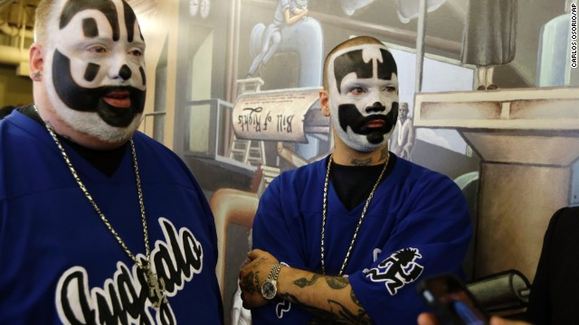 Insane Clown Posse suing FBI