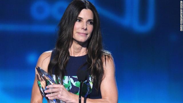 Sandra Bullock was a big winner at this year's People's Choice Awards.