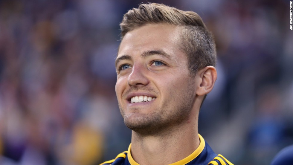 Footballer Robbie Rogers has experienced similar media attention since coming out in February 2013. After announcing his homosexuality, Collins sought the advice of Major League Soccer star Rogers on how to handle his new-found fame.