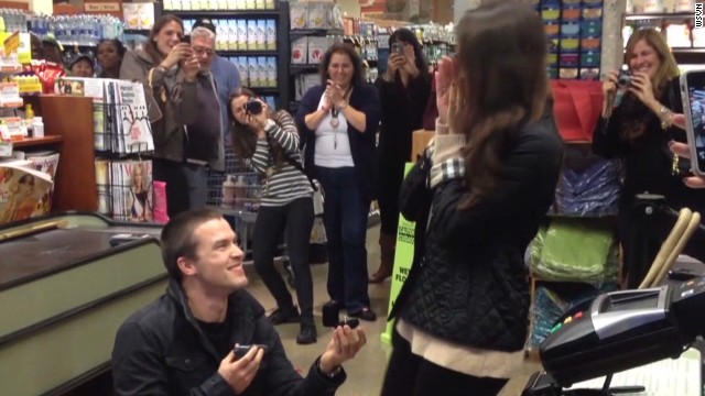 Boy stalks girl, seals deal at Whole Foods