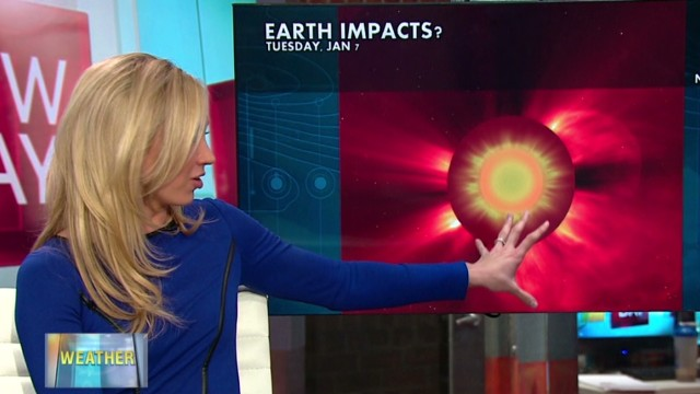 What's a solar flare?