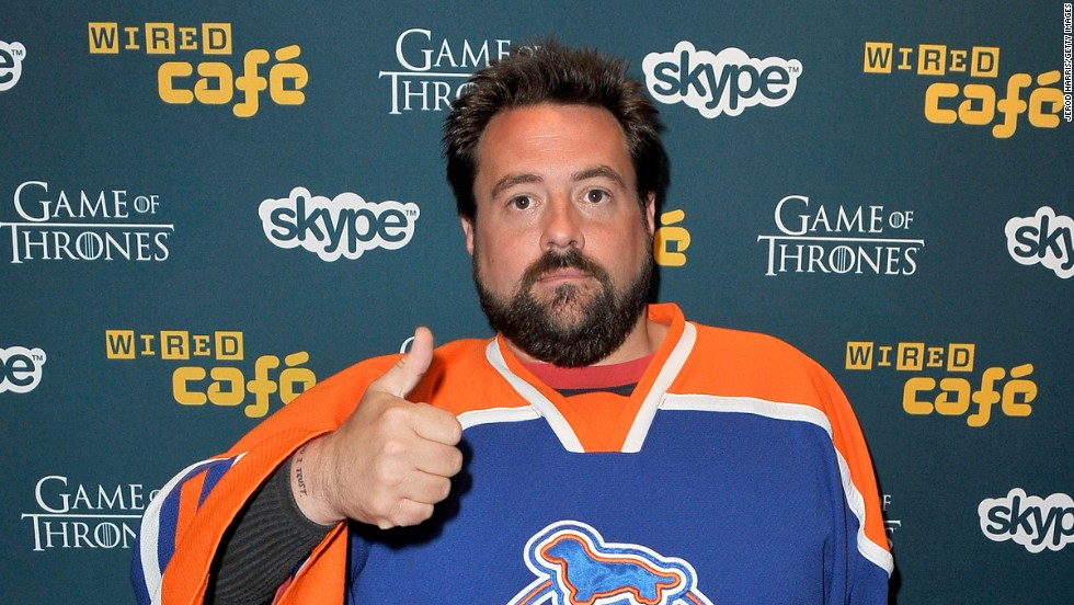 "In 2010, director Kevin Smith boarded a Southwest Airlines flight in Oakland, California, when he was <a href=""http://www.cnn.com/2010/OPINION/02/18/ladman.airplane.smith/index.html#top_of_page"" target=""_blank"">asked to get off the plane</a> because his weight and size were a ""safety concern."" Smith went on a Twitter tirade and released 24 video statements about it on YouTube."