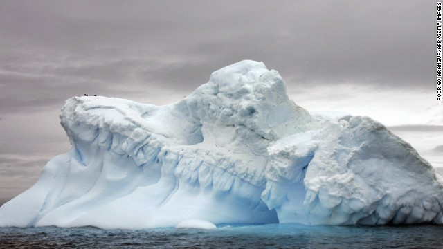 Antarctica: desert with ample water, but in a different form.