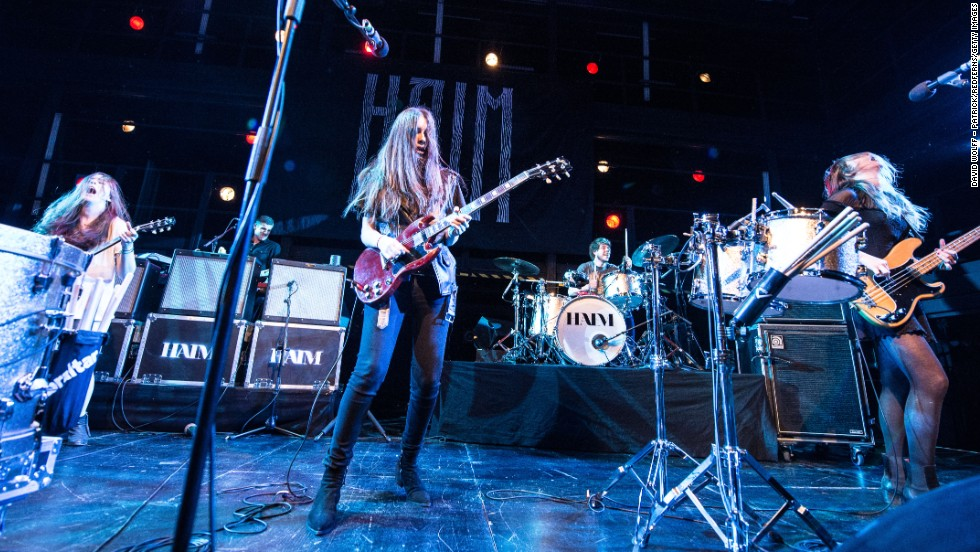 <strong>Haim: Performing April 11 and 18</strong>