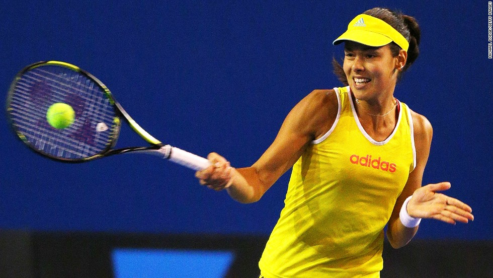 Ivanovic will take her bid for a second grand slam title to the Australian Open, where she was runner-up in 2008 and lost in the fourth round the last two years.