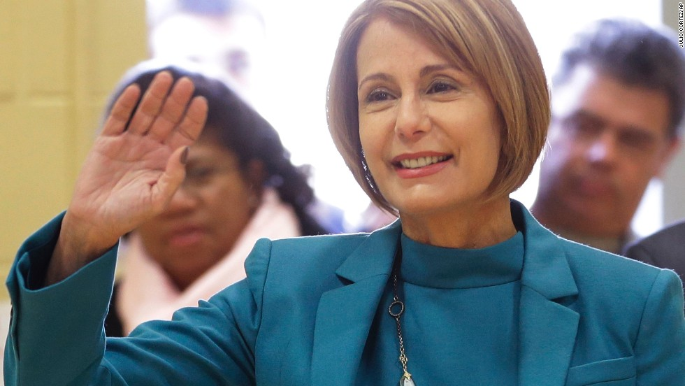 "Democrat Barbara Buono is a New Jersey state senator who challenged Chris Christie this past November and lost in a landslide. She derided Christie during the campaign as representing ""the worst combination of bully and bossism,"" and she brought up the George Washington Bridge traffic mess as an example."