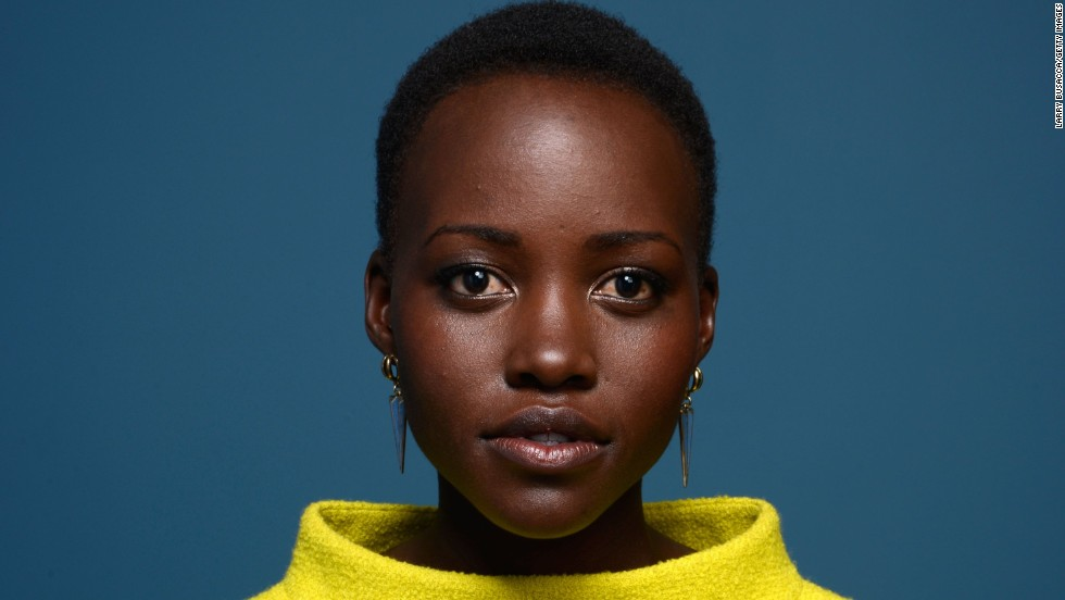"Kenyan actress Lupita Nyong'o has become one of Hollywood's hottest ""It"" girls."