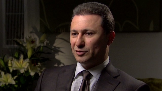 Macedonia's EU ambitions