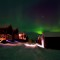 snow golf lapland cabins