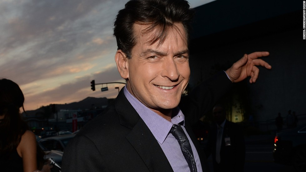 Charlie Sheen has been in the public eye almost as long as the 50 years he's been alive. The actor, seen here in 2013, has appeared in dozens of films, headlined a hit TV show, battled substance abuse, dated porn stars and made numerous headlines for his bad-boy behavior. Here's a look at Sheen's turbulent life and career.