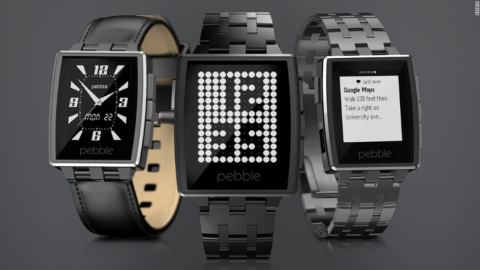 "Pebble has released an upgraded version of its smart watch. <a href=""https://getpebble.com/steel"" target=""_blank"">The Pebble Steel</a> comes with leather and metal straps and will cost $249."