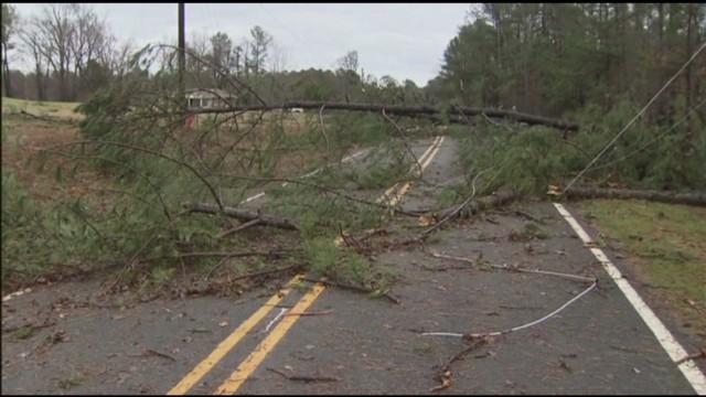 NC storm damage