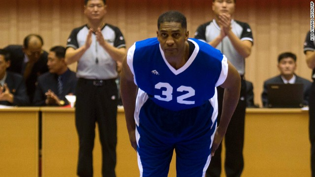 NBA star: I was paid to go to N. Korea