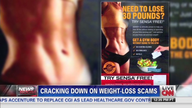 Gov't. cracks down on weight-loss scams