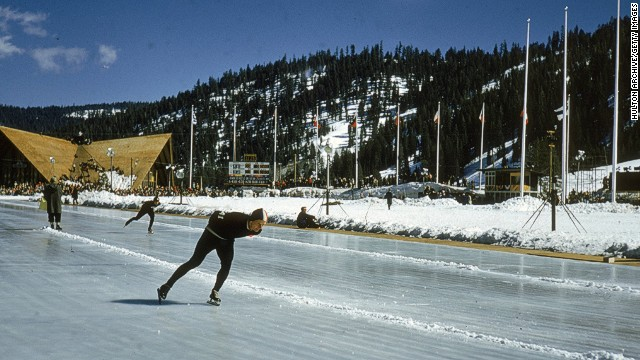 California's Squaw Valley hosted the 1960 Winter Olympic Games.