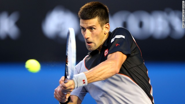 Serbia's world No. 1 Novak Djokovic has now won 22 straight matches at the Australian Open.