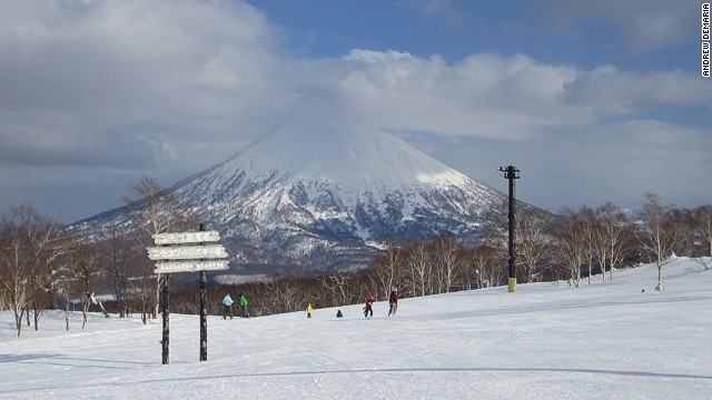 Plenty of room for all at Niseko in Japan.