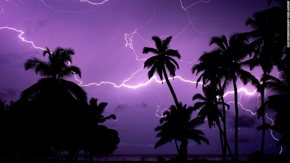 Thanks to its humidity, its elevation and the clash of winds from the mountains and the sea, the southwestern corner of Lake Maracaibo in Venezuela has the world's highest frequency of lightning activity.