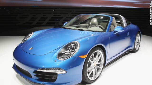 Automakers show off new cars in Detroit