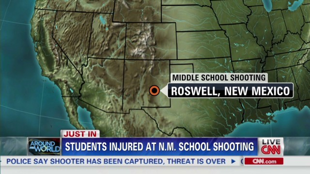 Students shot in N.M. school shooting