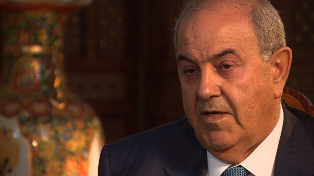 Ayad Allawi: al-Maliki won't share power