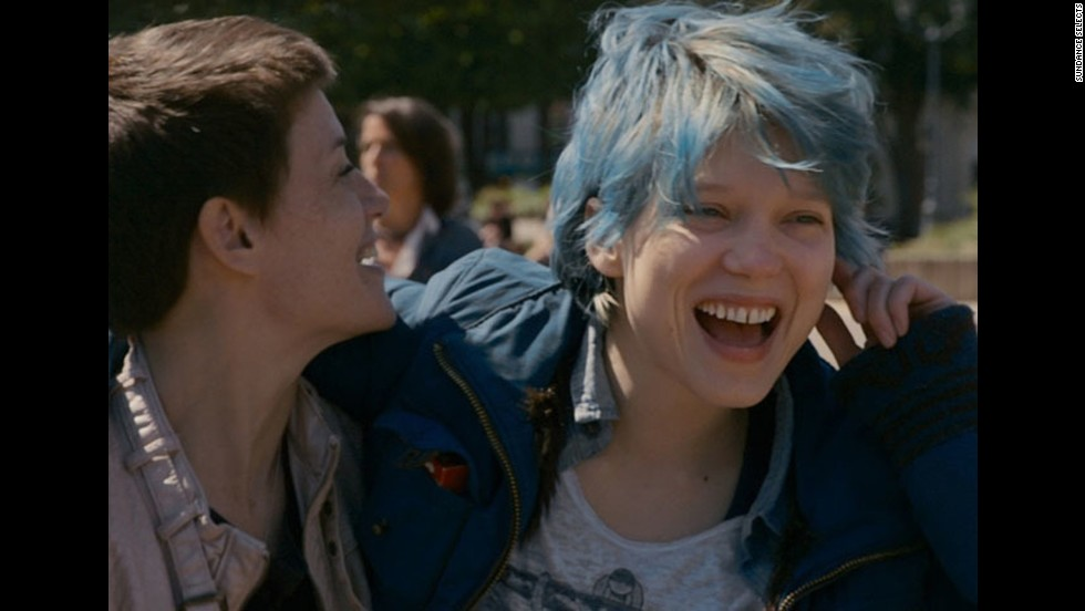 "Lea Seydoux and Adele Exarchopoulos star in one of 2013's most sensual movies, <strong>""Blue Is the Warmest Color.""</strong> (Available February 25.)"