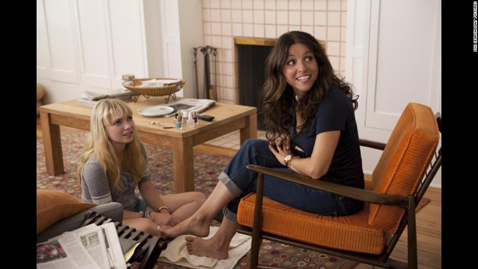 "Julia Louis-Dreyfus was widely praised for her performance as a romance-seeking massage therapist in ""Enough Said."" It could earn her an Oscar nomination."