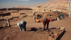 Excavation around Thebes could be returning to normal.